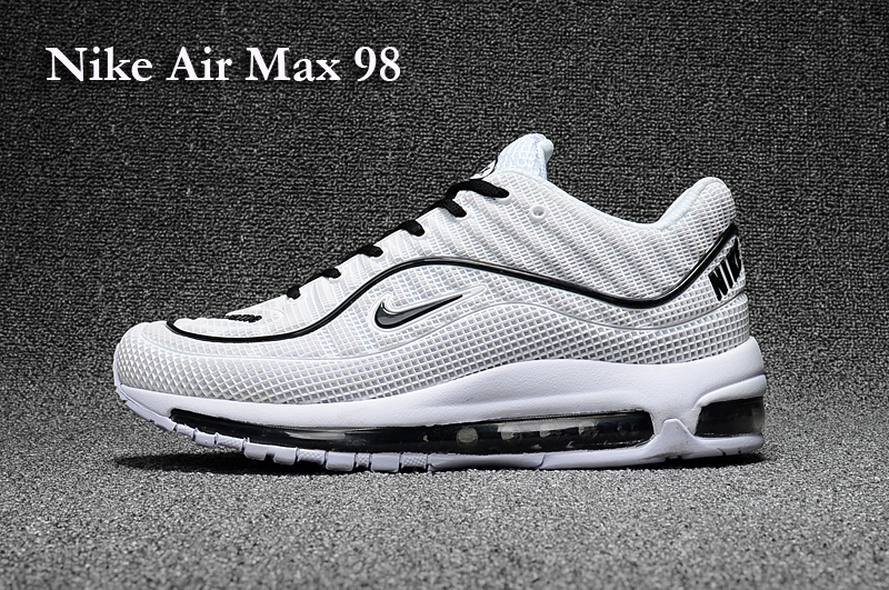 separation shoes 34d9d cf225 ... nike air max 98 white and black