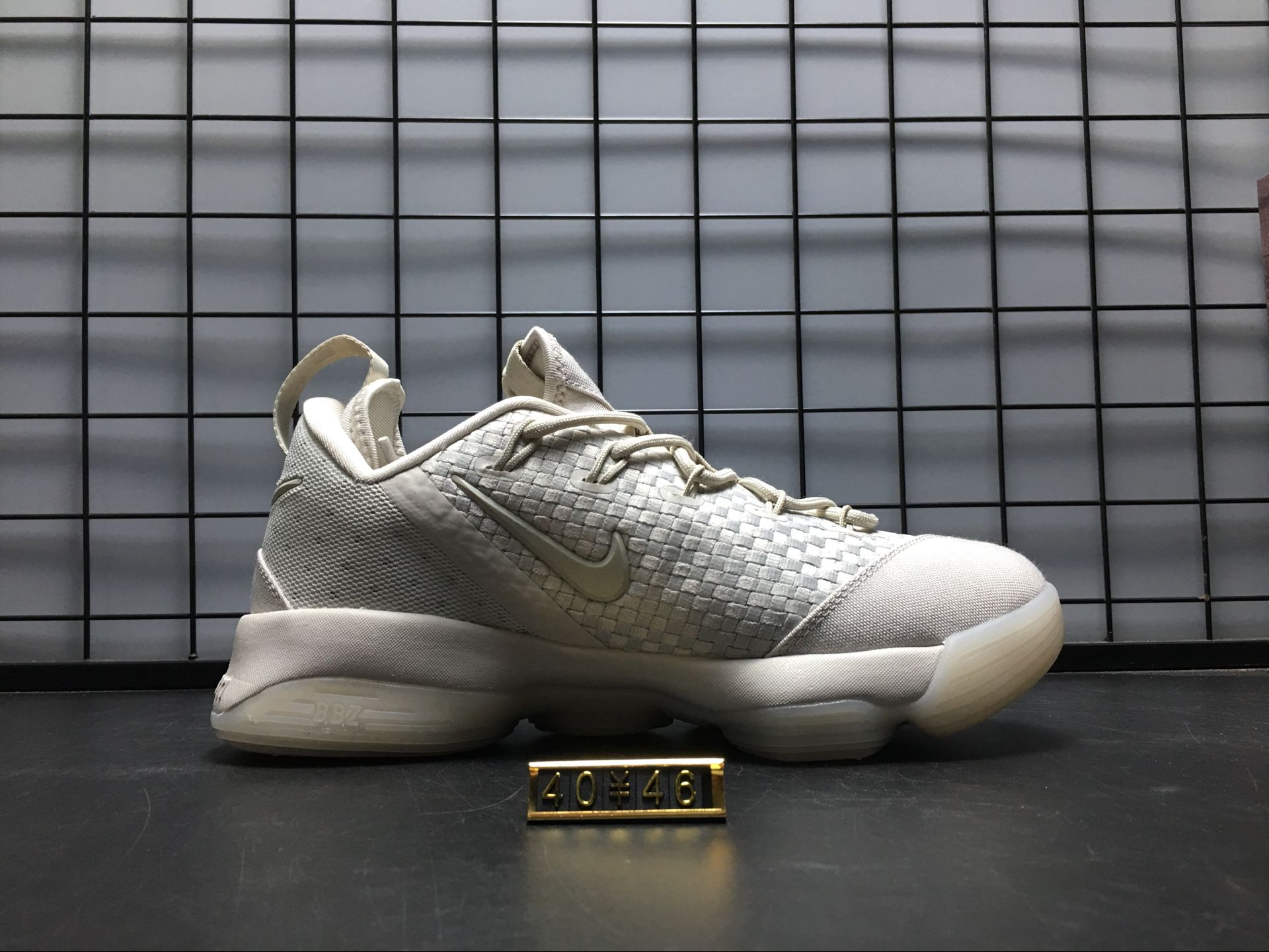 the latest a6267 4f33f Nike Lebron 14 XIV LOW EP Grey 878635-004